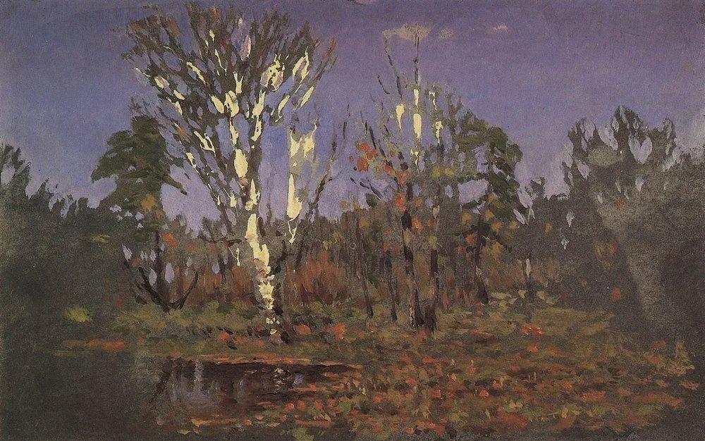 """列宾称他为""""善于表现诗意光辉的艺术大师"""",库因芝作品164幅插图219"""