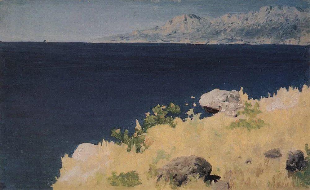 """列宾称他为""""善于表现诗意光辉的艺术大师"""",库因芝作品164幅插图223"""