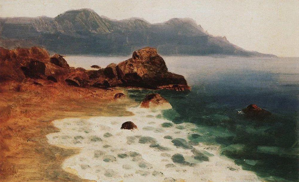 """列宾称他为""""善于表现诗意光辉的艺术大师"""",库因芝作品164幅插图225"""