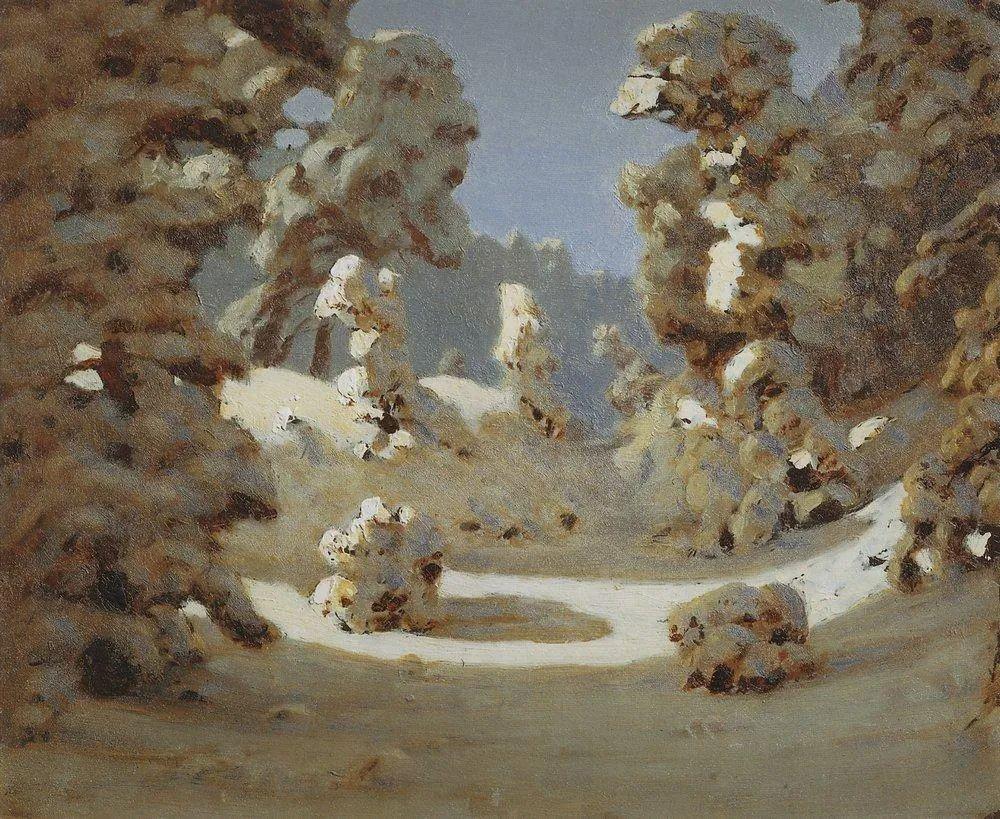 """列宾称他为""""善于表现诗意光辉的艺术大师"""",库因芝作品164幅插图227"""