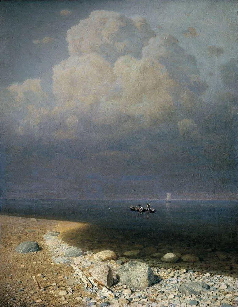 """列宾称他为""""善于表现诗意光辉的艺术大师"""",库因芝作品164幅插图229"""