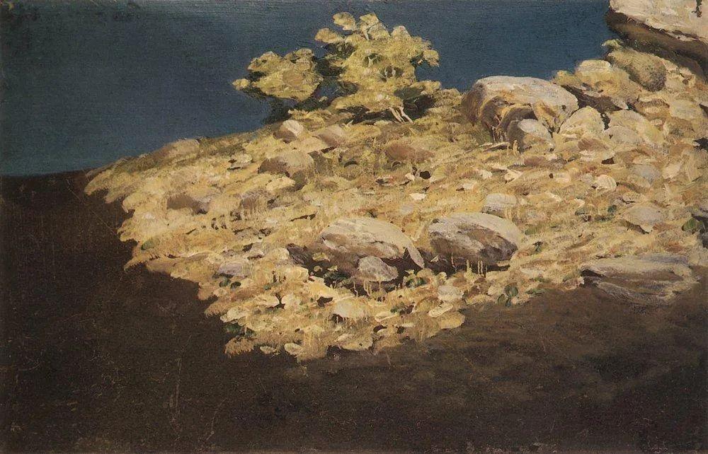 """列宾称他为""""善于表现诗意光辉的艺术大师"""",库因芝作品164幅插图231"""