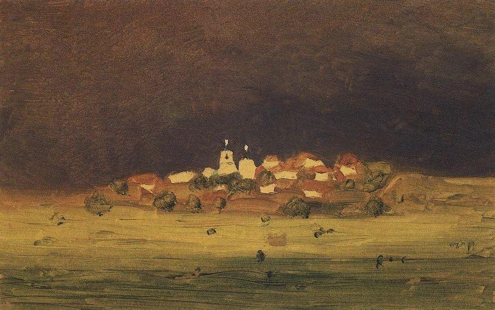 """列宾称他为""""善于表现诗意光辉的艺术大师"""",库因芝作品164幅插图233"""