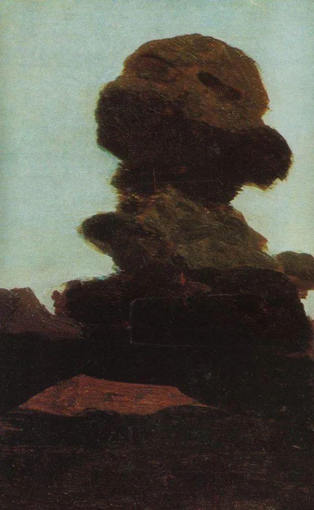 """列宾称他为""""善于表现诗意光辉的艺术大师"""",库因芝作品164幅插图239"""