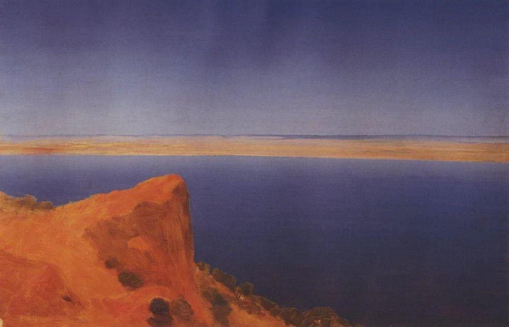 """列宾称他为""""善于表现诗意光辉的艺术大师"""",库因芝作品164幅插图243"""