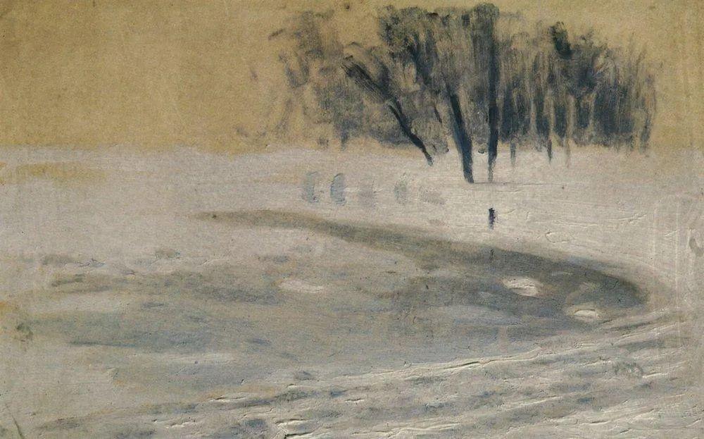 """列宾称他为""""善于表现诗意光辉的艺术大师"""",库因芝作品164幅插图245"""