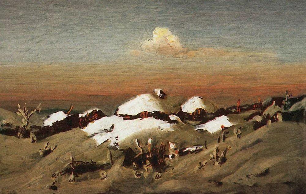 """列宾称他为""""善于表现诗意光辉的艺术大师"""",库因芝作品164幅插图247"""