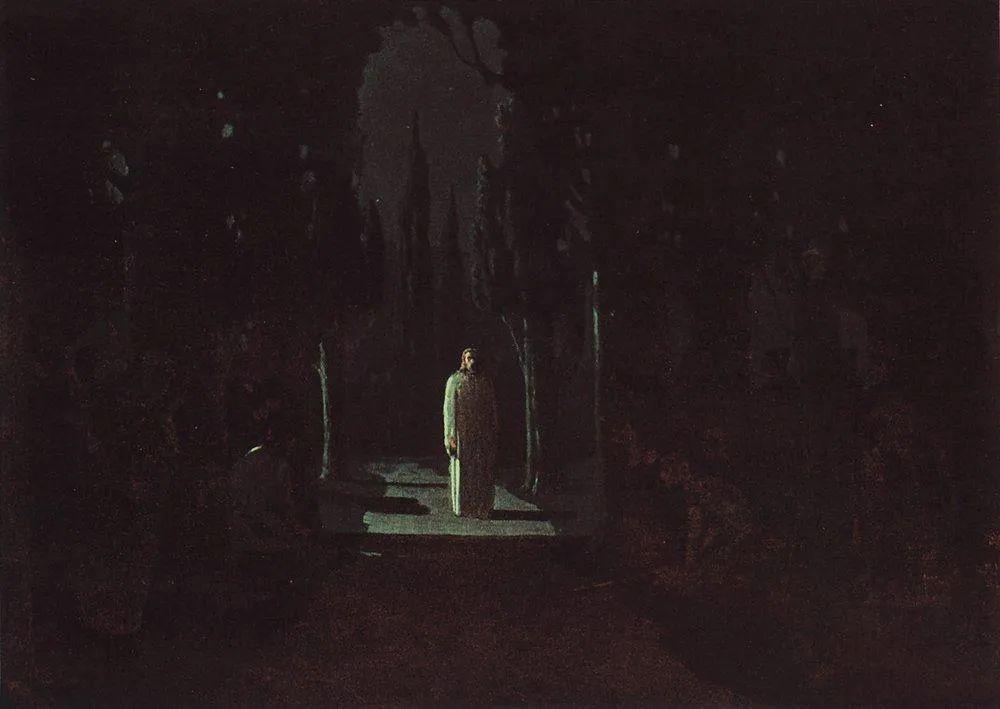 """列宾称他为""""善于表现诗意光辉的艺术大师"""",库因芝作品164幅插图259"""