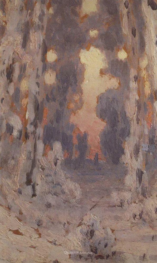 """列宾称他为""""善于表现诗意光辉的艺术大师"""",库因芝作品164幅插图261"""