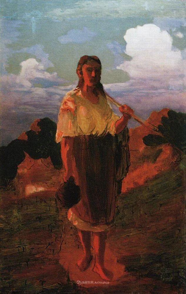 """列宾称他为""""善于表现诗意光辉的艺术大师"""",库因芝作品164幅插图265"""