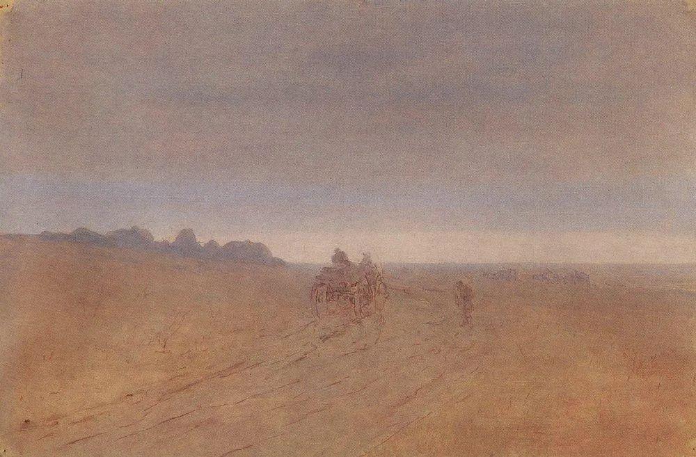 """列宾称他为""""善于表现诗意光辉的艺术大师"""",库因芝作品164幅插图271"""