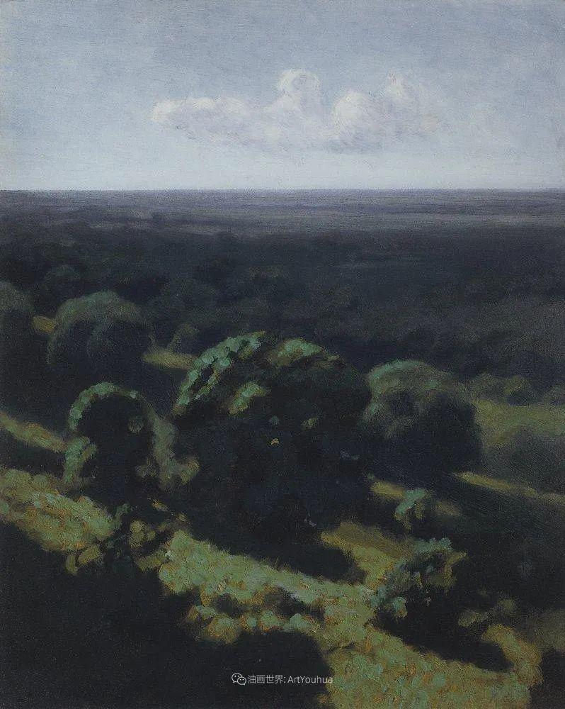 """列宾称他为""""善于表现诗意光辉的艺术大师"""",库因芝作品164幅插图277"""