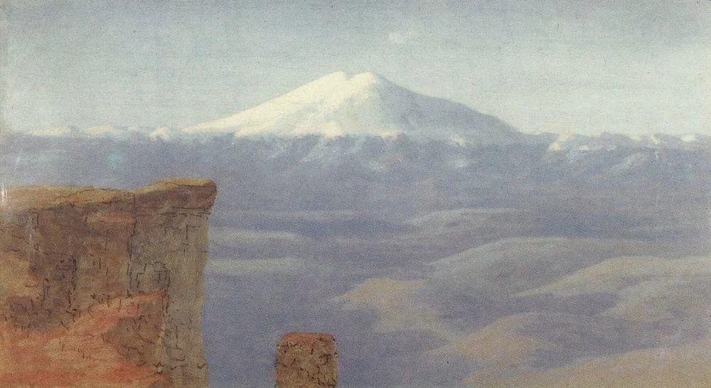 """列宾称他为""""善于表现诗意光辉的艺术大师"""",库因芝作品164幅插图281"""