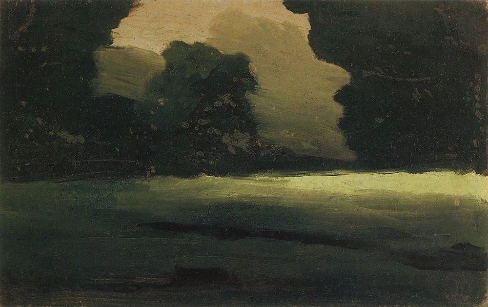 """列宾称他为""""善于表现诗意光辉的艺术大师"""",库因芝作品164幅插图283"""