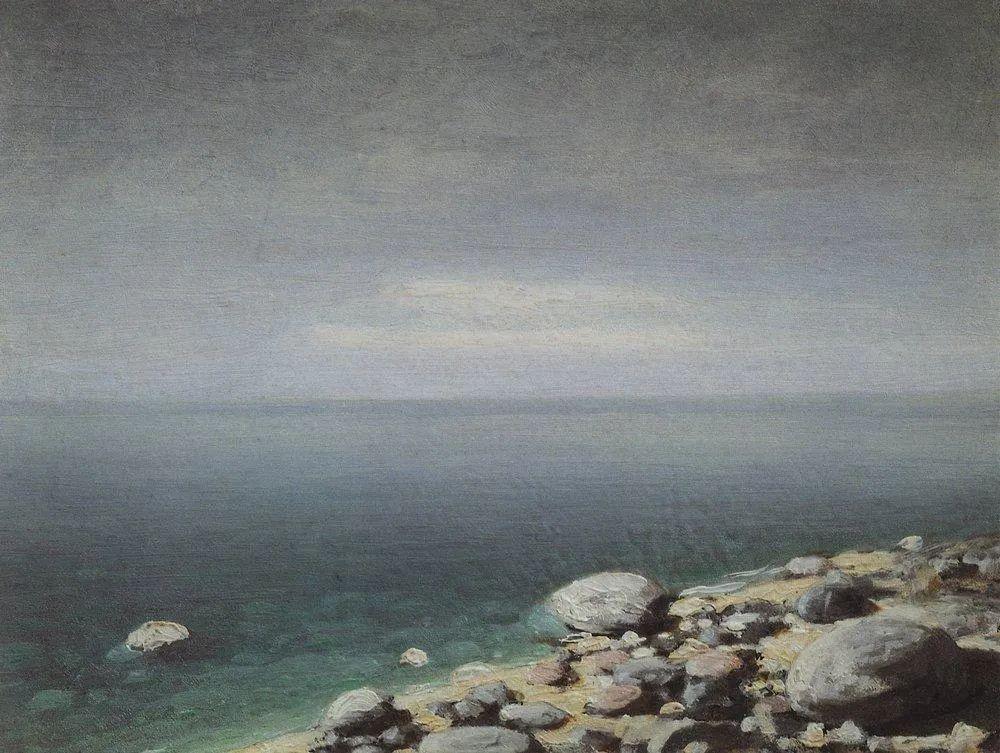 """列宾称他为""""善于表现诗意光辉的艺术大师"""",库因芝作品164幅插图285"""