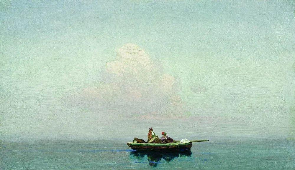 """列宾称他为""""善于表现诗意光辉的艺术大师"""",库因芝作品164幅插图293"""