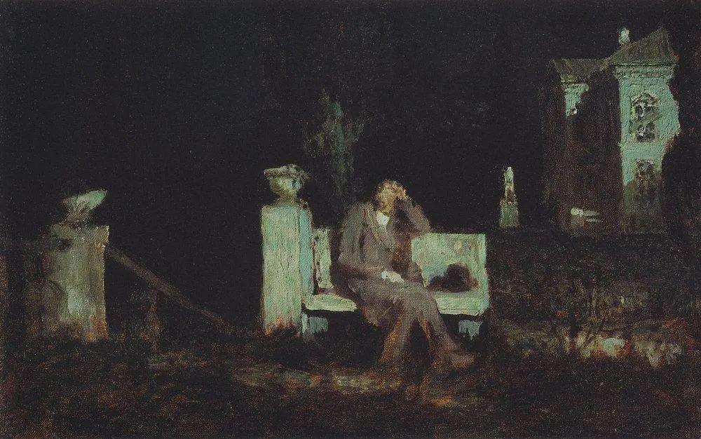 """列宾称他为""""善于表现诗意光辉的艺术大师"""",库因芝作品164幅插图305"""