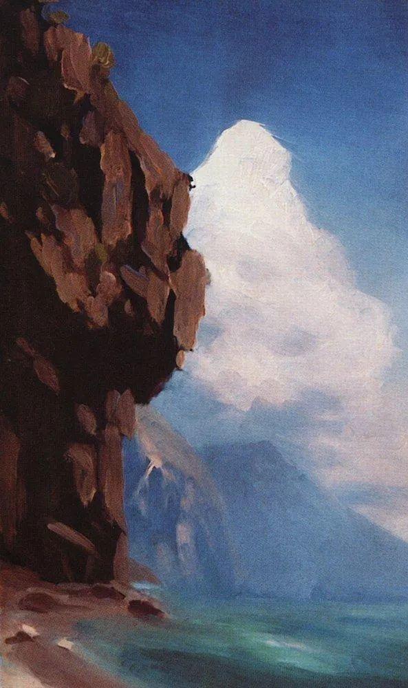 """列宾称他为""""善于表现诗意光辉的艺术大师"""",库因芝作品164幅插图311"""