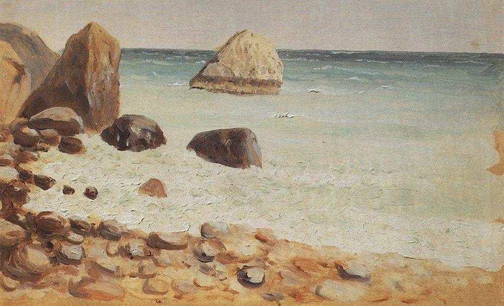 """列宾称他为""""善于表现诗意光辉的艺术大师"""",库因芝作品164幅插图313"""
