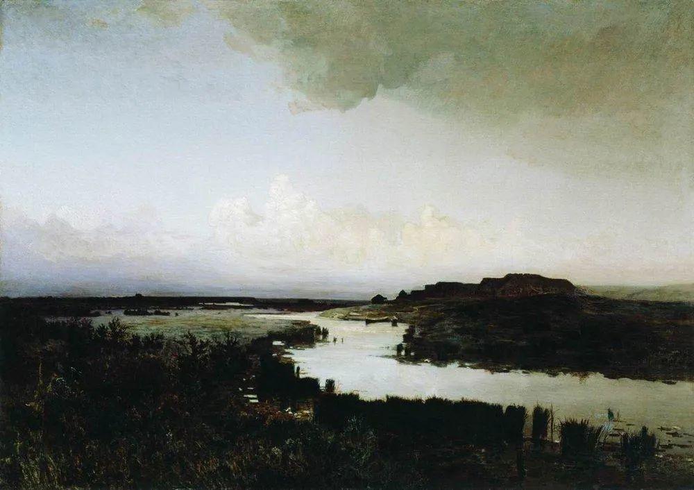 """列宾称他为""""善于表现诗意光辉的艺术大师"""",库因芝作品164幅插图319"""