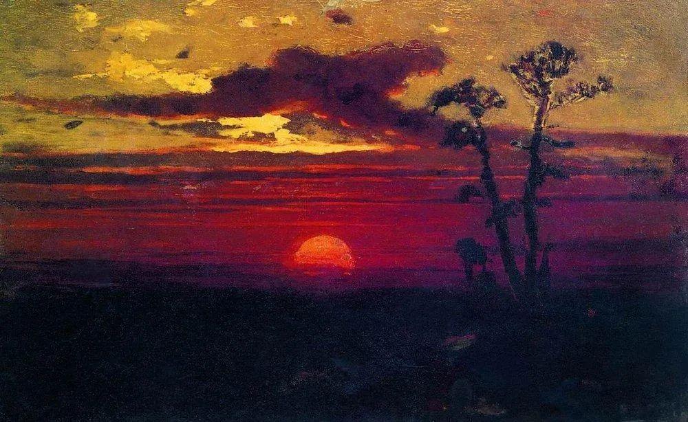 """列宾称他为""""善于表现诗意光辉的艺术大师"""",库因芝作品164幅插图321"""