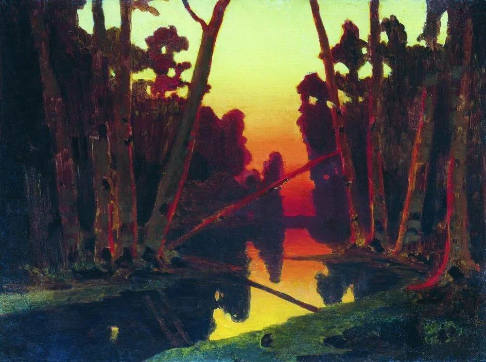 """列宾称他为""""善于表现诗意光辉的艺术大师"""",库因芝作品164幅插图323"""