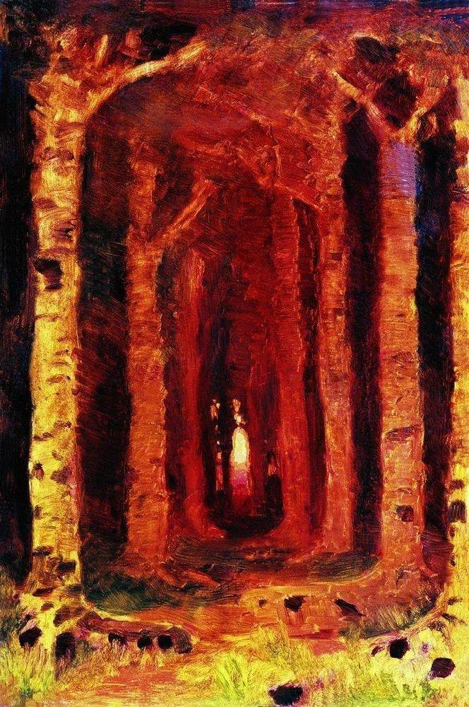 """列宾称他为""""善于表现诗意光辉的艺术大师"""",库因芝作品164幅插图325"""