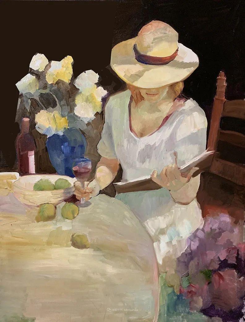 捕捉定格的瞬间美感,美国画家Sally Rosenbaum插图31