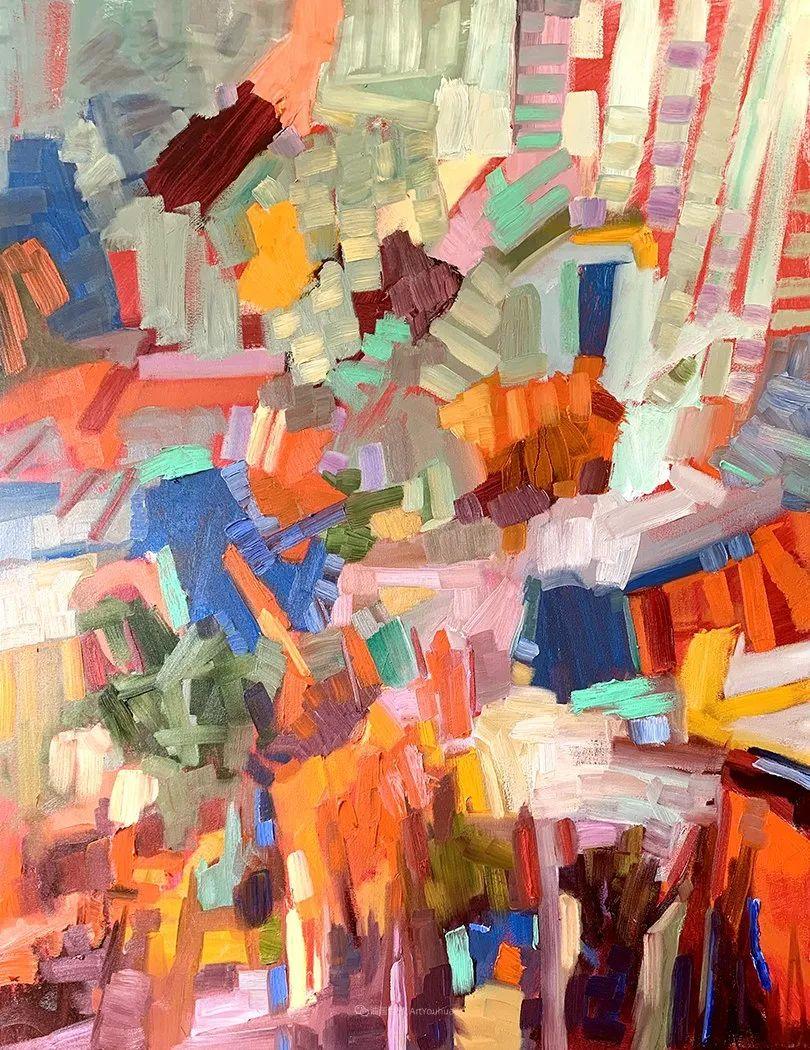 捕捉定格的瞬间美感,美国画家Sally Rosenbaum插图37