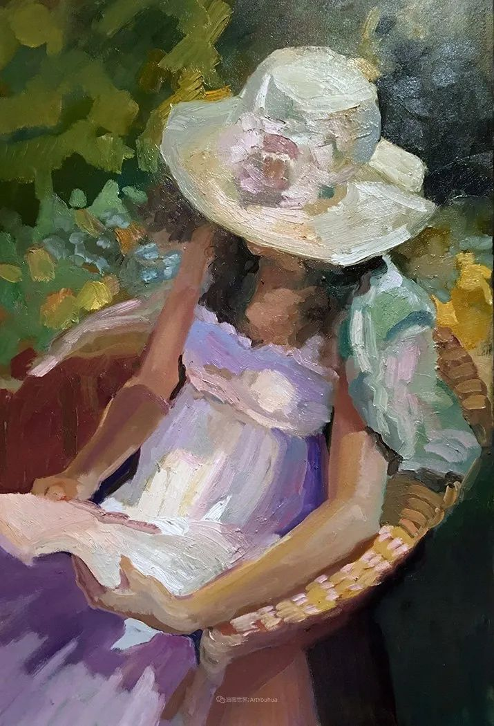 捕捉定格的瞬间美感,美国画家Sally Rosenbaum插图63