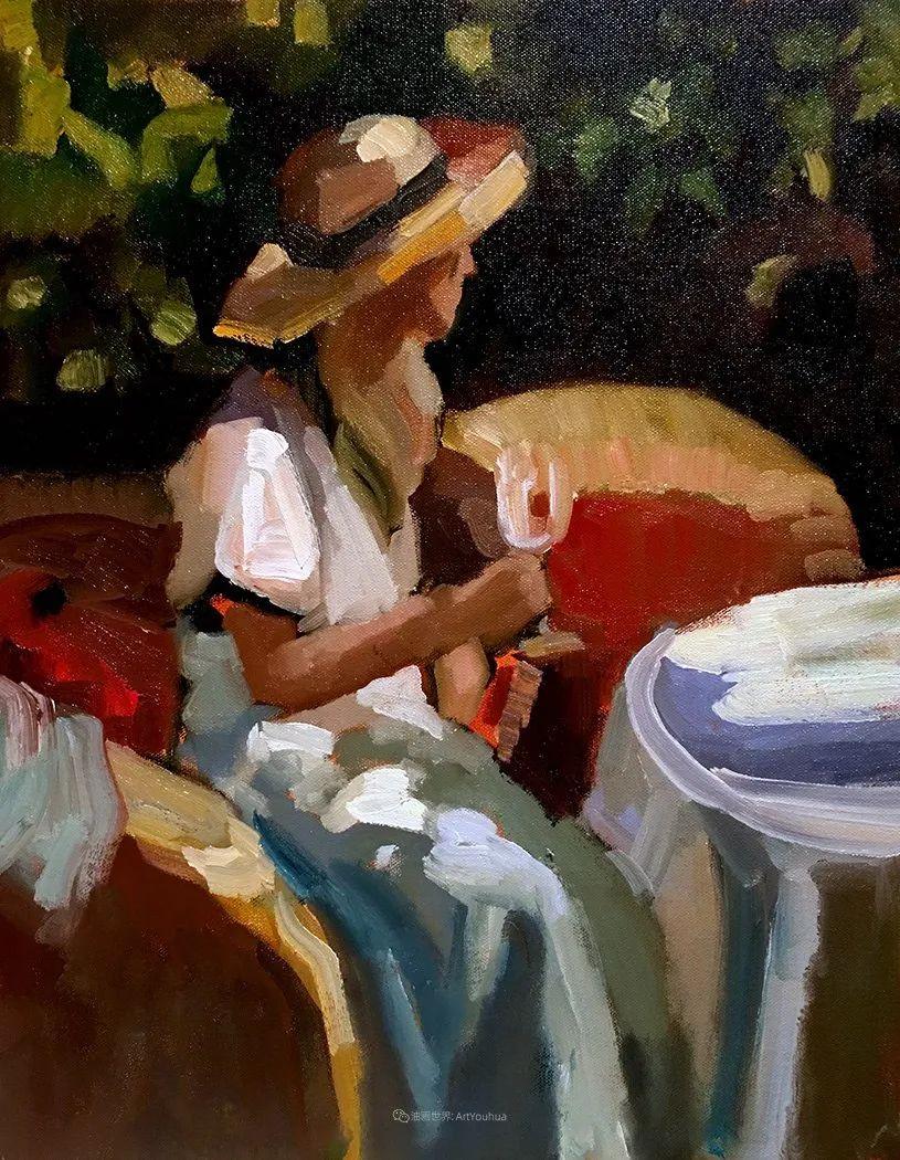 捕捉定格的瞬间美感,美国画家Sally Rosenbaum插图65