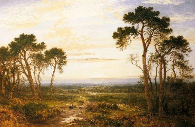 乡野颂歌,横跨两个世纪的著名英国风景画家插图1