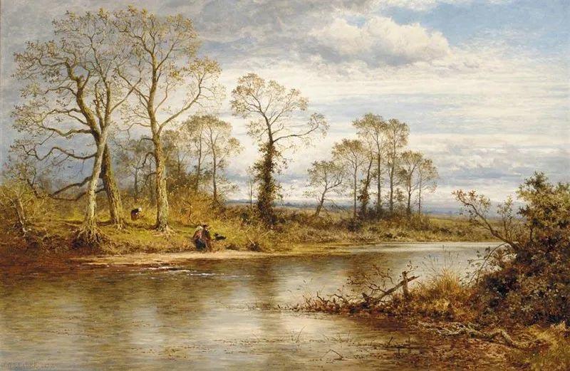 乡野颂歌,横跨两个世纪的著名英国风景画家插图5