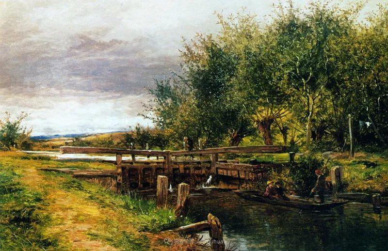 乡野颂歌,横跨两个世纪的著名英国风景画家插图7