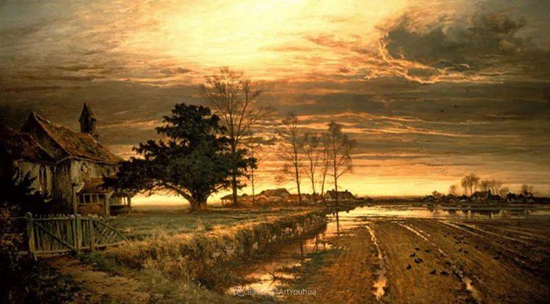 乡野颂歌,横跨两个世纪的著名英国风景画家插图9