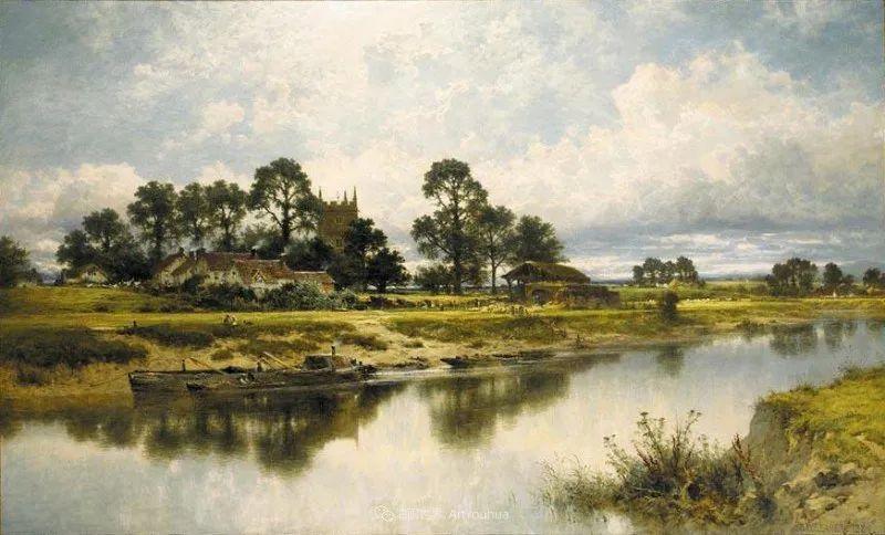 乡野颂歌,横跨两个世纪的著名英国风景画家插图11