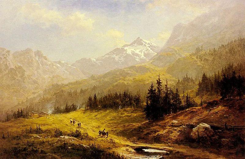 乡野颂歌,横跨两个世纪的著名英国风景画家插图13