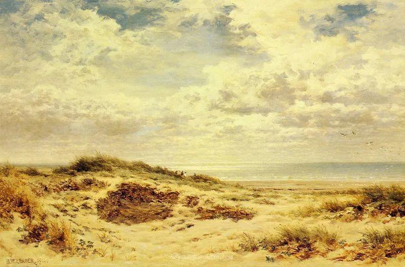 乡野颂歌,横跨两个世纪的著名英国风景画家插图15