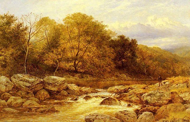 乡野颂歌,横跨两个世纪的著名英国风景画家插图17