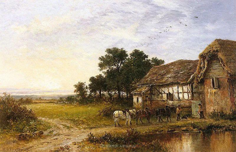 乡野颂歌,横跨两个世纪的著名英国风景画家插图19