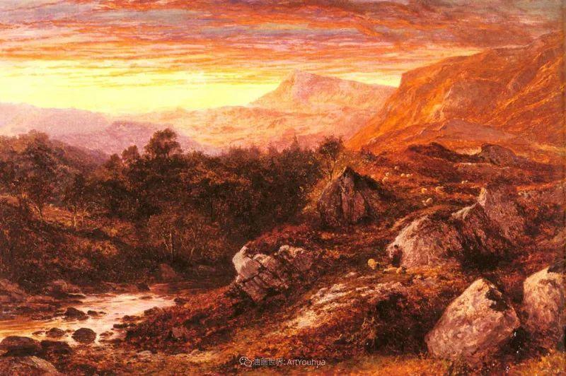 乡野颂歌,横跨两个世纪的著名英国风景画家插图21