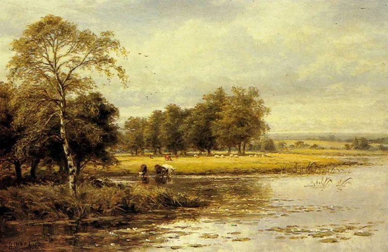 乡野颂歌,横跨两个世纪的著名英国风景画家插图23