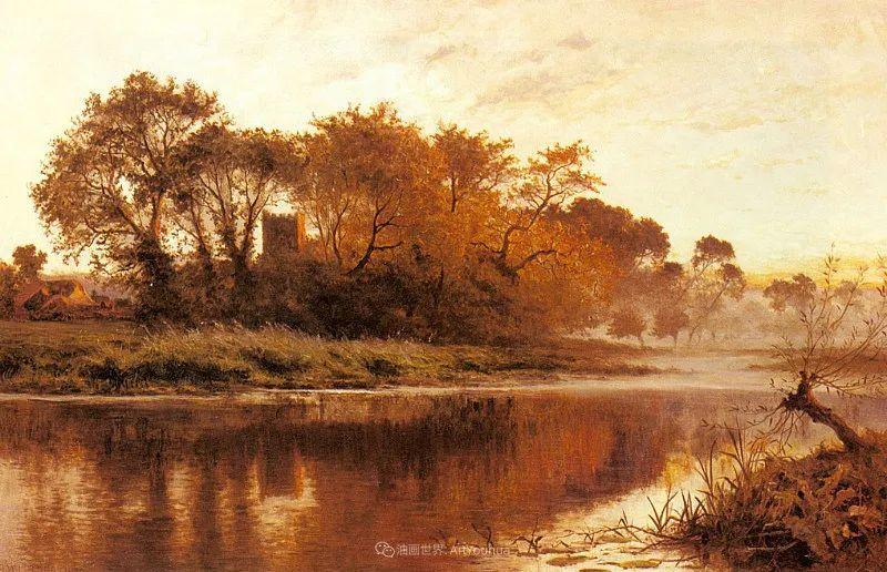 乡野颂歌,横跨两个世纪的著名英国风景画家插图25