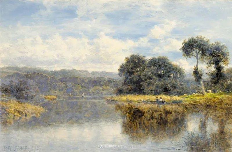 乡野颂歌,横跨两个世纪的著名英国风景画家插图31