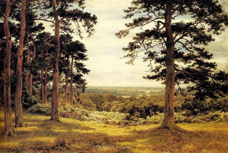 乡野颂歌,横跨两个世纪的著名英国风景画家插图33
