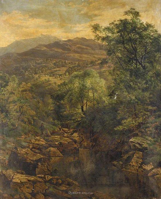 乡野颂歌,横跨两个世纪的著名英国风景画家插图35