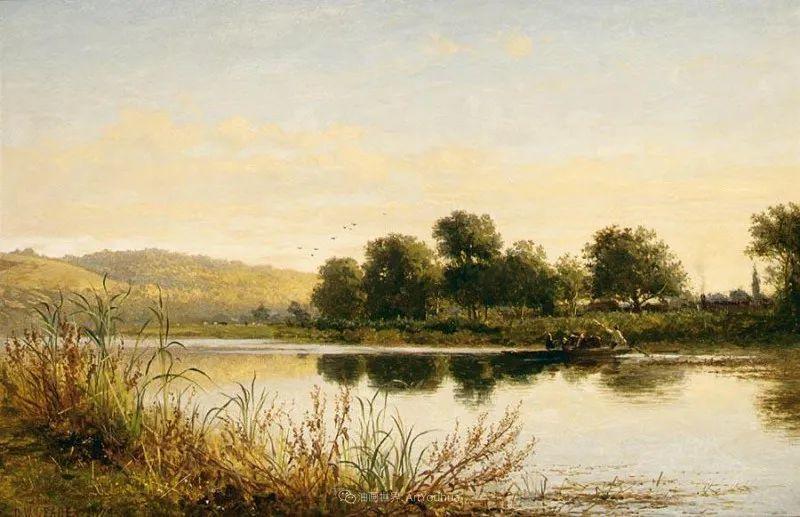 乡野颂歌,横跨两个世纪的著名英国风景画家插图37