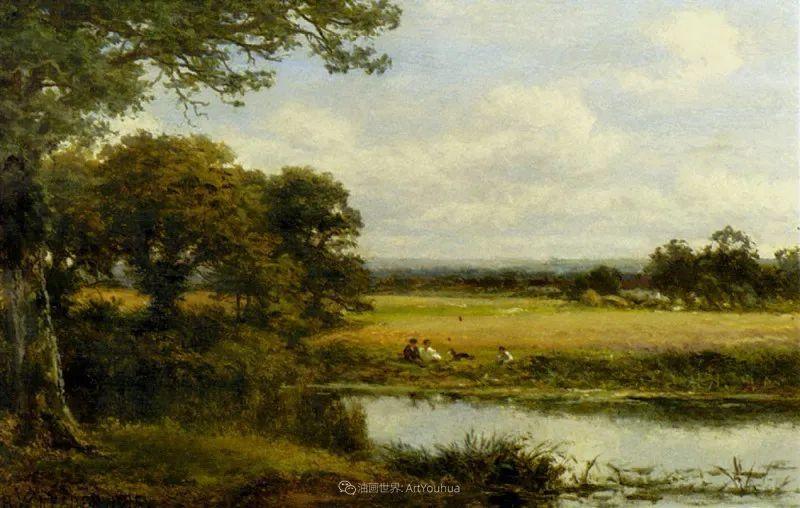 乡野颂歌,横跨两个世纪的著名英国风景画家插图39