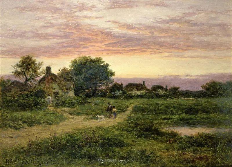 乡野颂歌,横跨两个世纪的著名英国风景画家插图41
