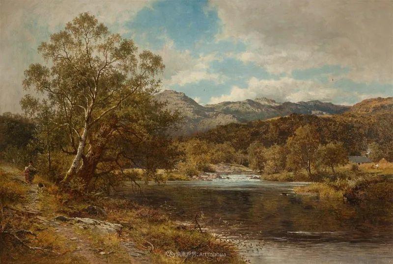 乡野颂歌,横跨两个世纪的著名英国风景画家插图43
